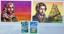 Ghana 1994 2063-64 Bloc 257-58 1596-1599 Copernicus Copernic Space Neuf sans charnière