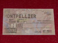 [COLLECTION SPORT FOOTBALL] TICKET PSG / MONTPELLIER 4 MAI 2000 Champ.France