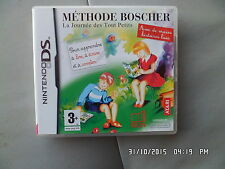 JEU NINTENDO DS  3DS : METHODE BOSCHER jeu rare !!!!   I27