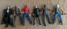 Marvel Legends Lot Wrestler Spiderman Tobey Maguire Blade Whistler Punisher Rare