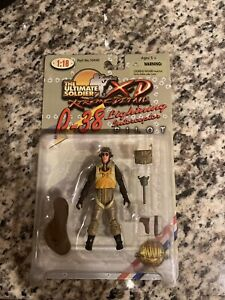 21st Century Ultimate Soldier Toys XD 1:18 Scale P-38 Pilot WWII  # 10440