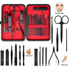 15tlg Nagelpflege Set Maniküre Pediküre Nagelknipser für Fingernägel Fußnägel