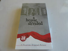 A House Divided.Showtime.Sam Waterson.Jennifer Beals.New.Tim Daly.VHS 2001.Civil