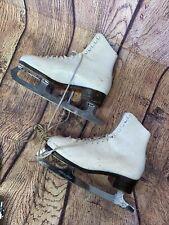 Vintage Daoust Freestyle Womens Ice Skates Size 9 Single Jump Figure Skates