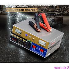 Intelligent Pulse Repair 12V/24V 20A Car Motorcycle Battery Charger EU Plug 220V