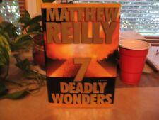 Seven Deadly Wonders by Matthew Reilly (2005, Hardcover)