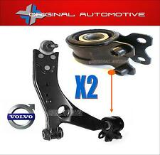 FITS VOLVO S40 2004> FRONT SUSPENSION WISHBONE CONTROL ARM BUSHS & BOLTS