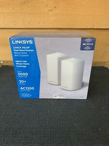 Linksys Velop AC1200 Dual Band Mesh WiFi System 2 Pack
