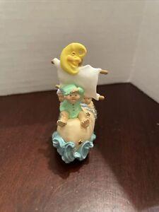 wynken, blynken, and nod figurine