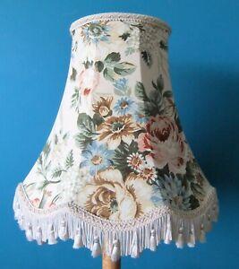 BIG Floral Vintage Lampshade With Tassels