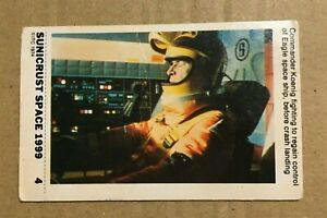 SPACE 1999  - SUNICRUST Card #04 Gerry Anderson RARE IN UK Made in Australia