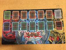 Yugioh Egyptian God Cards Playmat For Card Game CCG TCG Sliffer OBelisk Ra