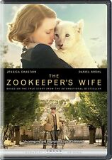 THE ZOOKEEPER'S WIFE (DVD 2017)NEW* Drama, History* NOW SHIPPING