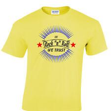 ROCK & Roll Camiseta y ROCKER Greaser Estilo 50's AÑOS 50 Rockabilly we trust