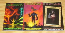 Ultrasylvania 1-3 VF/NM complete series DRACULA & FRANKENSTEIN ARE WORLD LEADERS