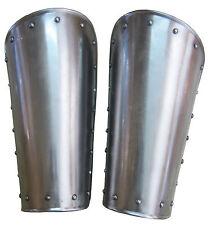 Medieval Spartan Knight Bracers Iron Steel Arm Guards Metal Guard Vambraces