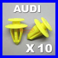 AUDI A3 A6 A8 TT FRONT SEAT REAR BACKREST TRIM COVER PANEL CLIPS BACK REST