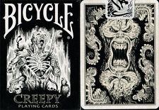 CARTE DA GIOCO BICYCLE CREEPY,poker size