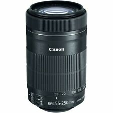 Canon EF-S 55-250mm F/4-5.6 Image Stabilization IS II Zoom Lens Macro 1.1m/3.6ft