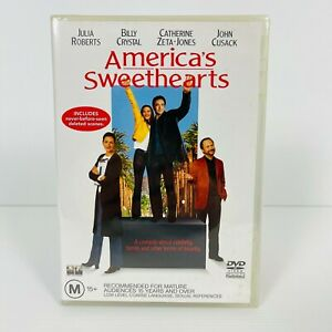 America's Sweethearts (DVD, 2001) Catherine Zeta‑Jones Brand New Sealed R4