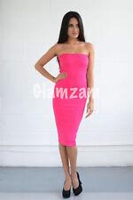 Vestiti da donna rosa in misto cotone taglia S