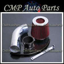 BLACK RED AIR INTAKE KIT FIT 2004-2008 CHEVY CHEVROLET AVEO 1.6 1.6L ENGINE