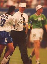 Firmato BIG JACK CHARLTON Irlanda USA 94 foto (con Baggio)