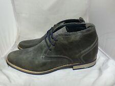 Mens Bull Boxer Lace Up Distressed Shoes / Boots UK 8 EU 42 JS22 92 SALEw