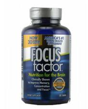 FOCUS Factor Brain Health Vitamins Dietary Supplement Memory 180 Tabs exp 4/2023