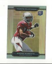 2010 Topps Platinum Rookie Refractor #34 Andre Roberts Cardinals Lions /999