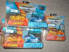 MONSTER JAM EXCLUSIVE MEGALODON, DRAGON, ZOMBIE, EL TORO, AND DIGGER, ALL UNOPEN