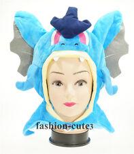 New Unisex Cosplay Pokemon Plush Warm Hat Cap Beanie Gyarados mega Costume Gift
