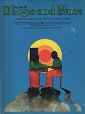 "SHEET MUSIC ALBUM - ""THE JOY OF BOOGIE AND BLUES"" - AGAY & MARTIN - PB (1972)"