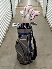 Wilson Hope Oversize Pink Golf Set 4 Woods - 5,6,7,8,9,P Irons(10) - Women RH