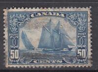 "Canada Scott #158 50 cent Bluenose ""Scroll""   F"