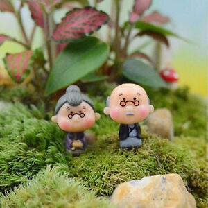 2X Garden Moss Terrarium Desktop Decor Crafts Bonsai Doll House Miniatures  WJ