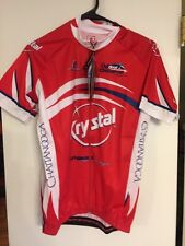 NWT Hincapie Jersey Red Krystal Outdoor Chattanooga TN Size Small BMW