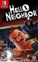 Hello Neighbor (Nintendo Switch, 2018) - Brand New Sealed! Free Shipping!
