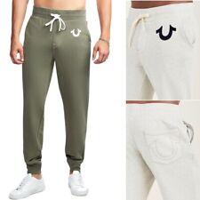 True Religion Men's Classic Logo Jogger Sweatpants