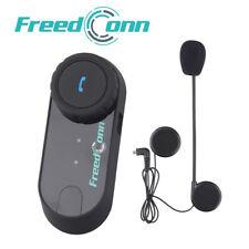 800M BT Bluetooth Interphone écouteur Casque de Moto Helmet Intercom FM Radio