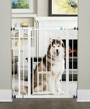 Carlson Extra Tall Walk Through Pet Gate with Small Pet Door Dog Cat 3DAYSHIP