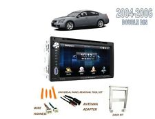 For 2004-2006 NISSAN MAXIMA DOUBLE DIN CAR STEREO KIT, BLUETOOTH TOUCHSCREEN DVD