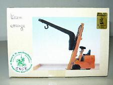 Ritter von Krauthauser 8765K, Fertigmodell Gabelstapler mit Kran,  H0, NEU&OVP