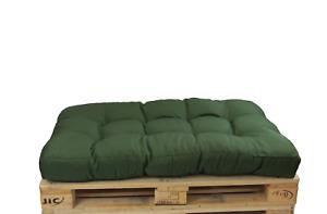 Herlag Palettenkissen Basic Palettenpolster grün, Maße 120x80 für Palettenmöbel