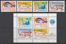 ICELAND :1998 Fish series 1 set  + Min Sheet SG 897-900+MS901 MNH