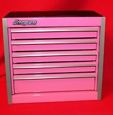 Snap On Hot Pink Mini Bottom Roll Cab Tool Box Brand New