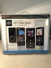 Rechargeable Mp3 Player, Recorder and Accessory Kit by Sharper Image
