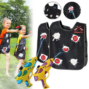 Water-changing vest Summer Toy Outdoor Swimming Pool Toy For Children And Adu Js