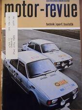 Tschechoslowakische MOTOR REVUE Nr. 11 - 1985 * Skoda Jawa Enduro Barum Rallye