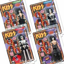 KISS 12 Inch Action Figures Series 3 Sonic Boom Complete Set of all 4